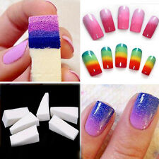 8PCS/Set Magic Nail Art Sponge Stamp Stamping Polish Transfer DIY Manicure Tools
