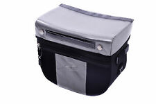 CHEAPEST DAWES CYCLING HANDLEBAR CARRY BAG 7 LITRES BLACK/GREY RRP £44.99!