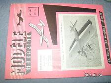 Modele Magazine n°87 Plan encarté Fifi avion Caoutchouc /  Tonnant Peugeot 1891