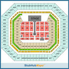 Reduce great Tickets for One Direction concert 10/05/14 section 155 row 21