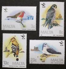 25th ANNIVERSARIO DI MALTA società Ornitologica FRANCOBOLLI 1987 Malta, ref: 799 Gomma integra, non linguellato