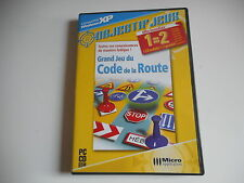 JEU PC CD ROM - GRAND JEU DU CODE DE LA ROUTE
