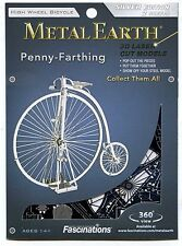 Fascinations Metal Earth Laser Cut Model Kit - Penny Farthing High Wheel Bicycle