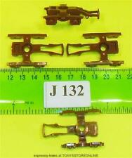 j132 jouef spares 4x brown bogie frames apps unknown