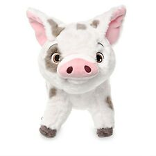 """MOANA PUA PLUSH PET PIG 9 1/2"""" NWT GENUINE ORIGINAL AUTHENTIC DISNEY STORE PATCH"""