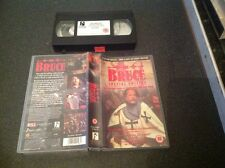 The Bruce- Oliver Reed vhs video