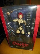 """1999  Brian Pulldo's Chastity Vampire Assassin 10"""" Figure NIB-SMILE"""
