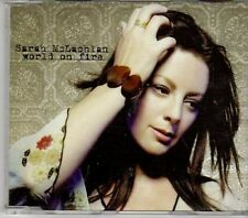 (CY245) Sarah McLachlan, World On Fire - 2004 DJ CD