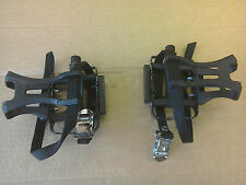 Brand New Wellgo M085 Pedals with Cages - Road Racing bike, Fixie, MTB