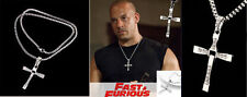 COLGANTE Y CADENA CRUZ A TODO GAS FAST AND FURIOUS DOMINIC TORETTO VIN DIESEL ++