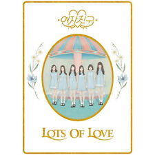 GFRIEND-[LOL] 1st Album LOTS OF LOVE CD+POSTER+Photobook+Card+Sticker+Letter+etc
