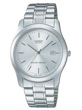 Casio MTP1141A-7A Men's Standard Analog Stainless Steel Silver Dial Dress Watch