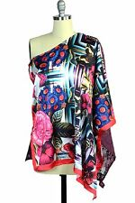 Custo Barcelona Davinia Lucinda Kaftan Top Blouse New with Tag One Size