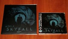 "ADELE JAMES BOND SKYFALL 7"" VINYL EU PRESS & CD SINGLE JAPAN LIMITED 2012 New"