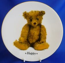 ROYAL WORCESTER THE ULTIMATE TEDDY BEAR COLLECTOR PLATE - HAPPY