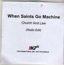 (CB896) When Saints Go Machine, Church And Law - 2011 DJ CD
