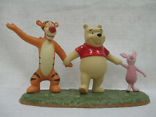 Walt Disney Winnie the Pooh I Love You This Much Retired Tigger Piglet