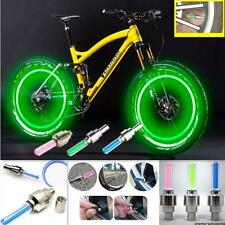4Pcs/Lots Flashing LED Wheel Tyre Light Lamp For Car Motorbicycle Bike Bicycle