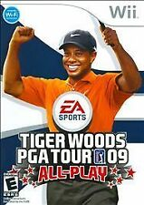 Tiger Woods PGA Tour 09: All-Play (Nintendo Wii, 2008) -Wii Classic.