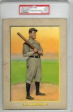 1911 T3 Turkey Red Cabinets Nap Lajoie #23 Checklist Back PSA 2 (MK) HS72