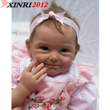 Hot Sale Solid Silicone Reborn Baby Dolls Wholesale Lifelike Baby Soft Dolls
