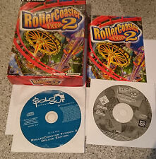 ROLLER COASTER TYCOON II - PC GAME - SMALL BOX