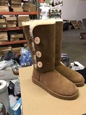 UGG Women's Bailey Button II Winter Boot Chestnut Size 7