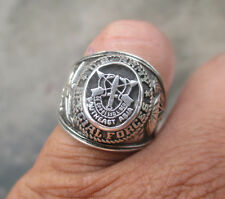 US ARMY SPECIAL FORCE Ring , Echt Silber 925 ,  Gr.50-70 , TOP