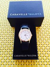 CARAVELLE by BULOVA UNISEX WRISTWATCH MODEL NO. 42A57 BRAND NEW IN BOX!