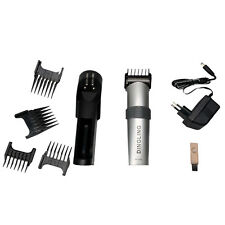 New RF-609 Professional Electric Hair Clipper Hair Cut Kit 9 Piece Silver