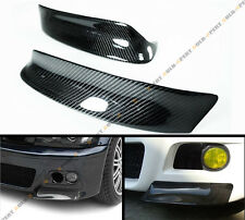 FOR 01-06 BMW E46 M3 100% REAL CARBON FIBER SPORT CSL FRONT BUMPER LIP SPLITTER