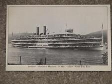 "Steamer ""Hendrick Hudson"" of the Hudson River Dayline, Unused, Vintage Card"