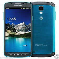Samsung Galaxy S4 SGH-I537 Active UNLOCKED 16GB Blue Smartphone FAIR CONDITION