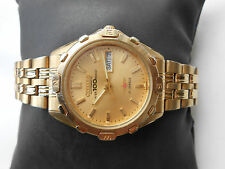 VINTAGE CITIZEN DIVERS STYLE 100 RESIST GOLD PLATED AUTOMATIC GENTS WRISTWATCH