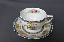 """Johnson Bros. Pareek """"The Marquis"""" Cup & Saucer"""
