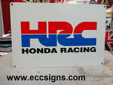 HONDA RACING HRC  MOTORCYCLE  SIGN PARTS & ACCESSORIES EC0207