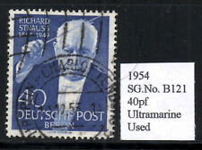 (Ref-7689) Berlin 1954 Fifth Death Anniversary of Richard Strauss  SG.B121  Used