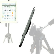 Apple iPAD 2 3 4 Custom Holder w/Video Camera Record Tripod 1/4-20 Mount Adapter
