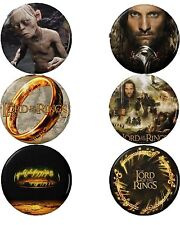 Lord of the Rings Button Set (6) 1 1/4''