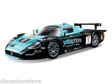 Bburago Maserati Race MC12 #1 Blue / Black 1/24 Diecast Car 18-28004