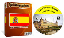 Learn To Speak Spanish Language Course MP3 Audio + PDF Text Lessons PC CD disk