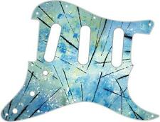 Stratocaster Pickguard Custom Fender SSS 11 Hole Guitar Pick Guard Abstract 4