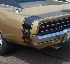 1969 CHARGER RT R/T BUMBLE BEE REAR STRIPES KIT DECAL MOPAR 69
