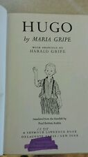 "Hugo by Maria gripe ""1970"" hard cover"