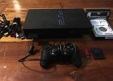 Sony PlayStation 2 PS2 Modded Console w/ Free McBoot & +3800 Games Bundle