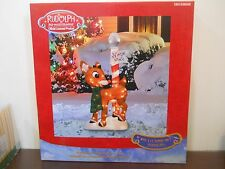 """Product Works Lighted Rudolph North Pole Outdoor Decor, 32"""" tall Lawn Ornament"""