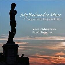NEW My Beloved Is Mine: Song Cycles By Benjamin Britten Super Audio... CD (CD)