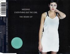 EVERYTHING BUT THE GIRL : MISSING - THE REMIX EP / 4 TRACK-CD - NEUWERTIG