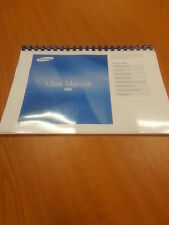 SAMSUNG NX5 DIGITAL CAMERA 129 PAGES FULLY PRINTED INSTRUCTION MANUAL USER GUIDE