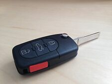 NEW VW VOLKSWAGEN FLIP KEY REMOTE FOB SHELL ROUND BUTTONS GOLF BEETLE JETTA